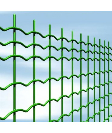 Grillage soudé plastifié vert (OVE)- 50 x 50 mm